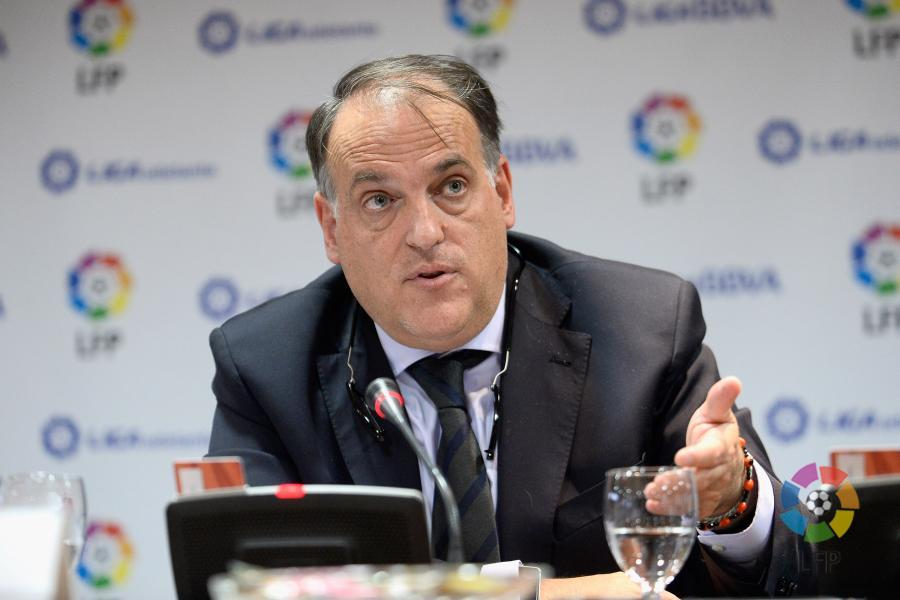 Foto: laliga.es - Presidente de la LFP, Javier Tebas
