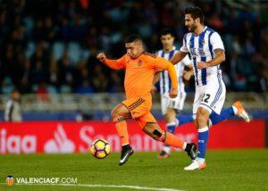 De nada sirvió el gol de Bakkali/ Foto: Lázaro de la Peña.