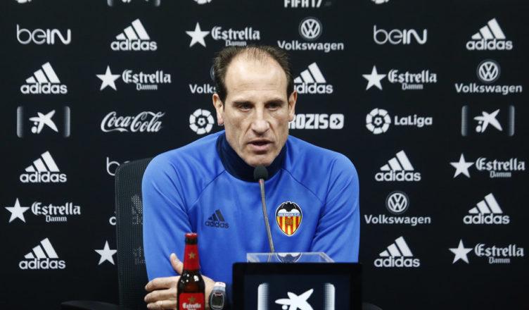 Voro, entrenador del Valencia CF | Foto VCF