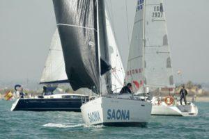 Salida de la regata/ Fotos RCNV.