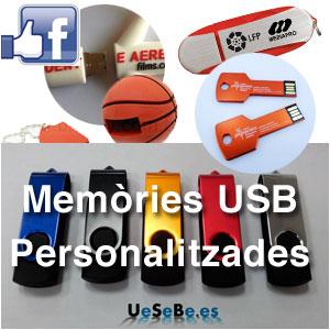 Memorias USB Personalizadas