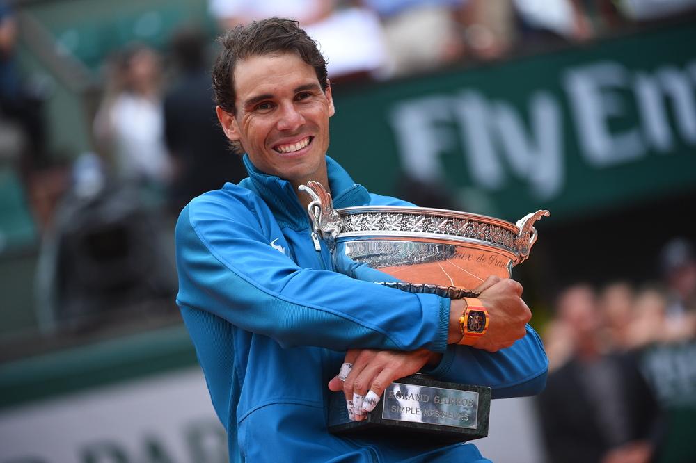 Rafael Nadal, Roland Garros 2018, Simple Messieurs, Remise de Prix, Photo : Corinne Dubreuil / FFT