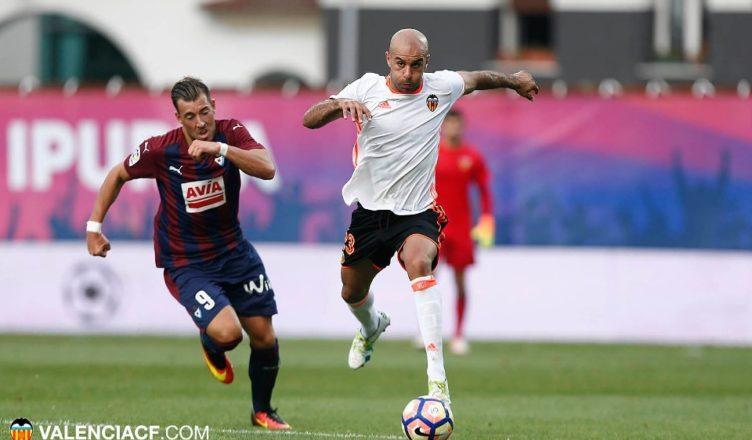 Abdennour durante el último partido de Liga contra el Eibar/ Foto: Lázaro de la Peña