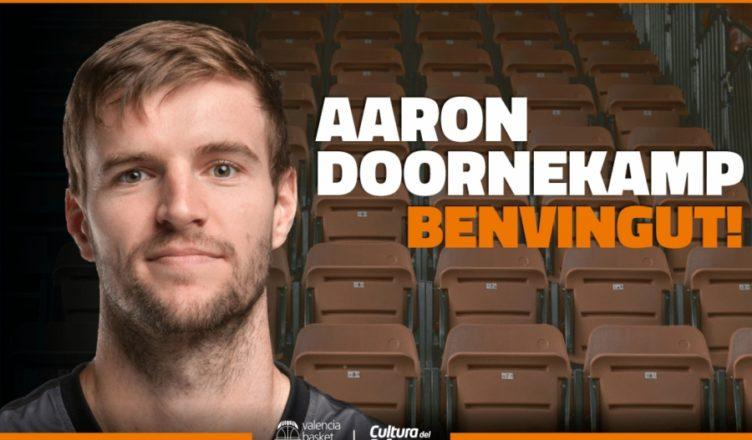 Aaron Doornekamp (2.01m, Richmond, 05/12/1985, 31 años), que se incorporará a la disciplina taronja