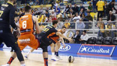 Valencia Basket, eliminado de la Copa del Rey (72-79)