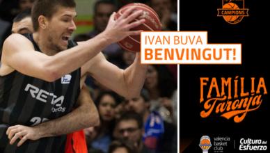 pívot internacional croata Ivan Buva (2,08m, Zagreb, 06/05/1991, 26 años)