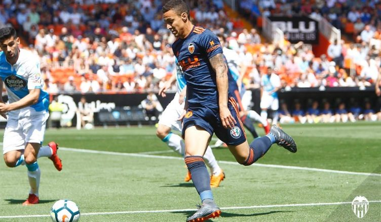 Rodrigo Moreno ante el Depor