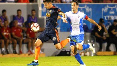 Valencia CF ganó el partido amistoso frente al CD Alcoyano