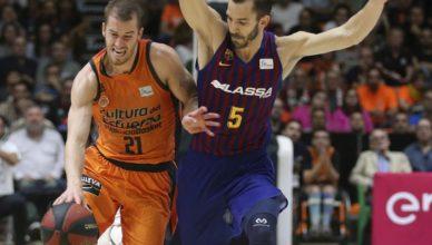 Valencia Basket y Barça Lassa