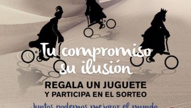 Los regalos se donarán a la ONG Casa Caridad de Valencia