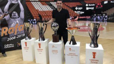 Rafa Martinez, Valencia Basket
