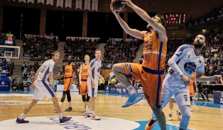 Valencia Basket en Santiago