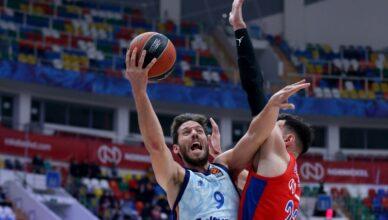 Valencia Basket cae en pista del CSKA